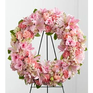 The FTD Loving Remembrance Wreath