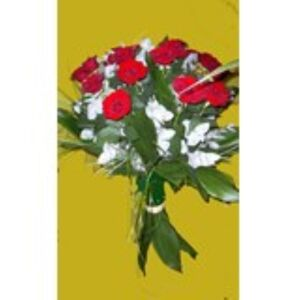 Bouquet of 15 Long Stemmed Red Roses